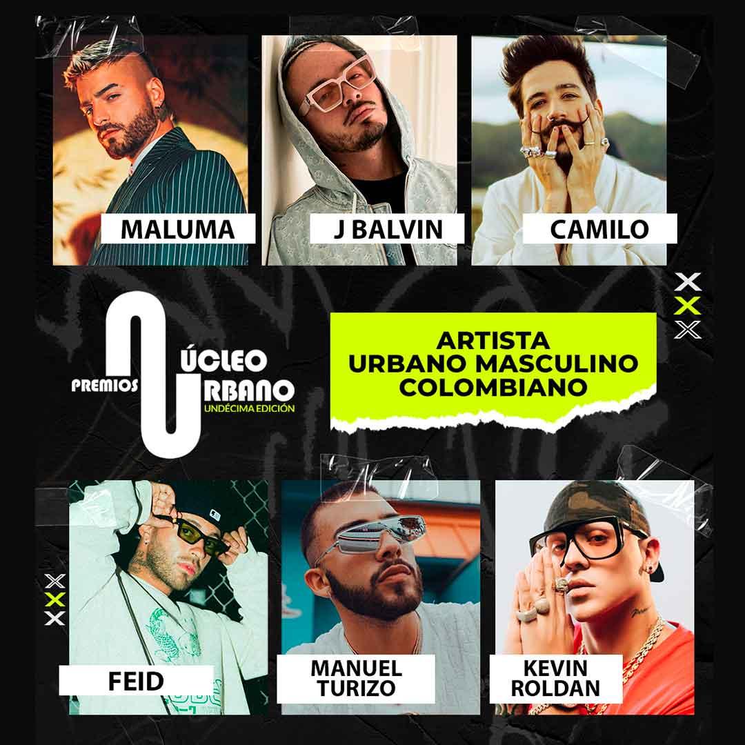 1- Artista Urbano Masculino Colombiano
